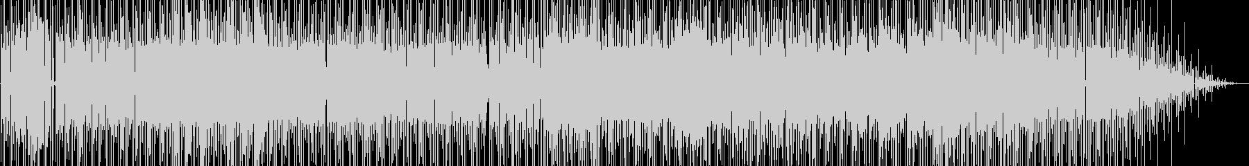 スネアとクラビネット。トリップホッ...の未再生の波形