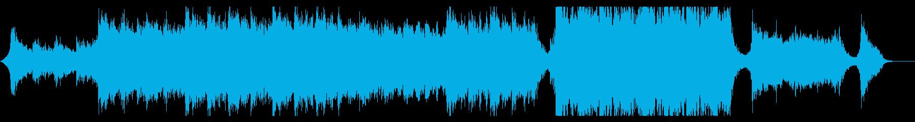 ハリウッド風壮大オーケストラ8B金管抜きの再生済みの波形