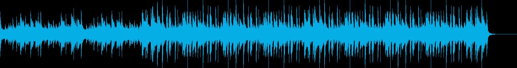 古臭いジャズホップの再生済みの波形