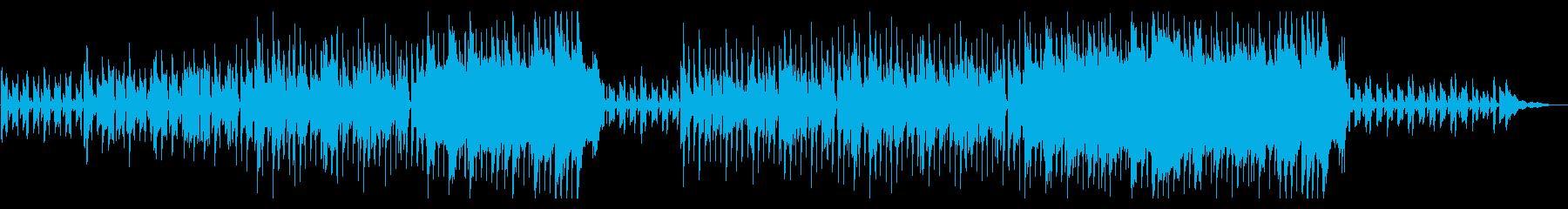 きらきらしたアコギの穏やかなポップスの再生済みの波形