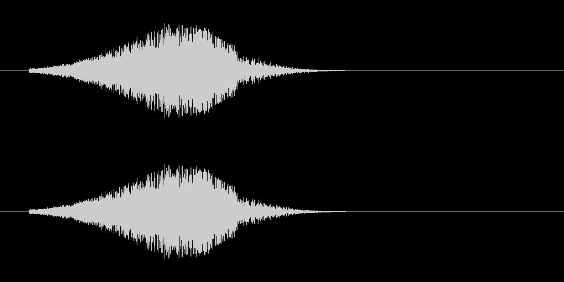 レーザー音-156-3の未再生の波形