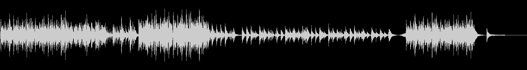 Piano 切ない Glocken オルの未再生の波形