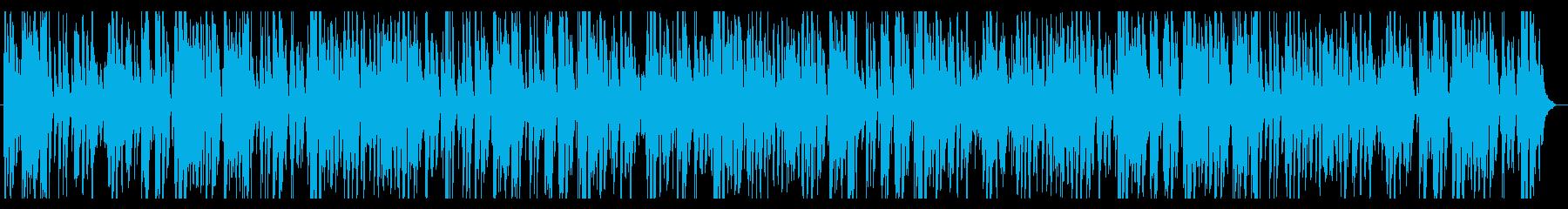 カフェ・ジャズピアノ爽やかスタイリッシュの再生済みの波形