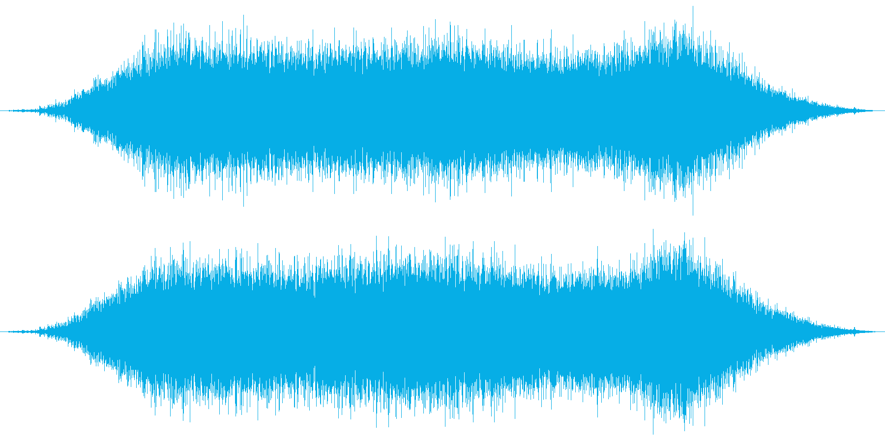 チェーンソーで木を切る1の再生済みの波形