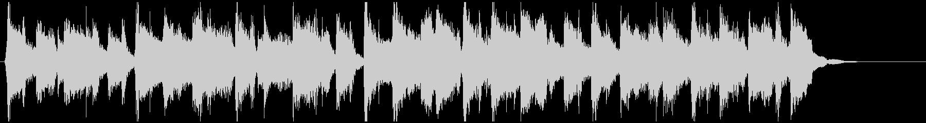 バラエティ系ノリノリなフルートのジングルの未再生の波形