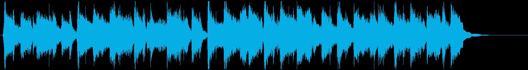 バラエティ系ノリノリなフルートのジングルの再生済みの波形