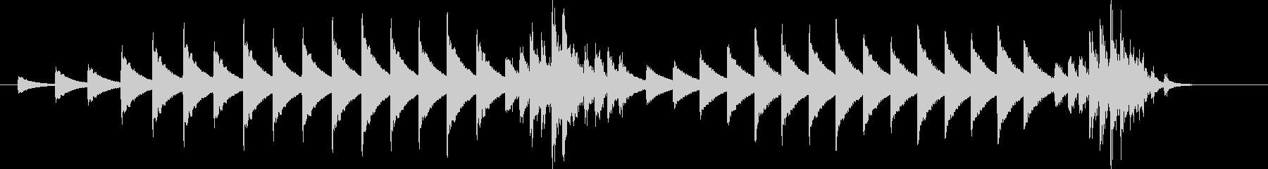 大太鼓33雪音歌舞伎情景描写和風和太鼓雪の未再生の波形