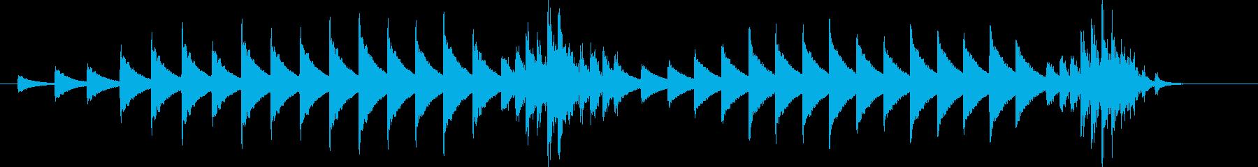 大太鼓33雪音歌舞伎情景描写和風和太鼓雪の再生済みの波形
