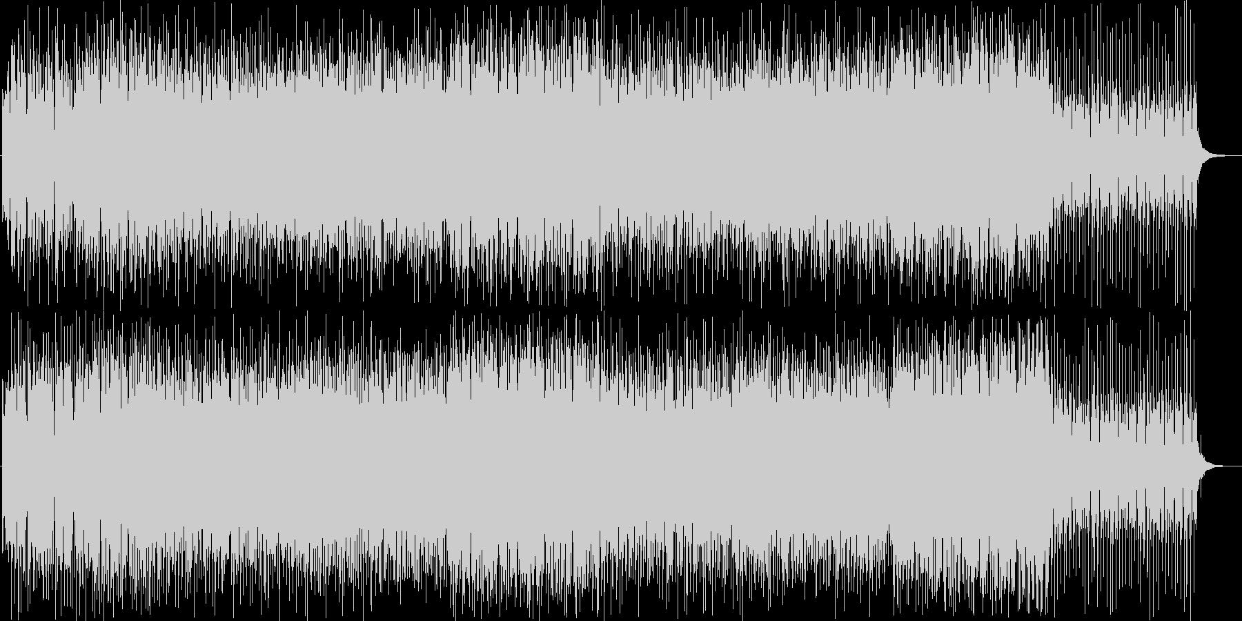 パンフルート美メロ爽やかトロピカルハウスの未再生の波形