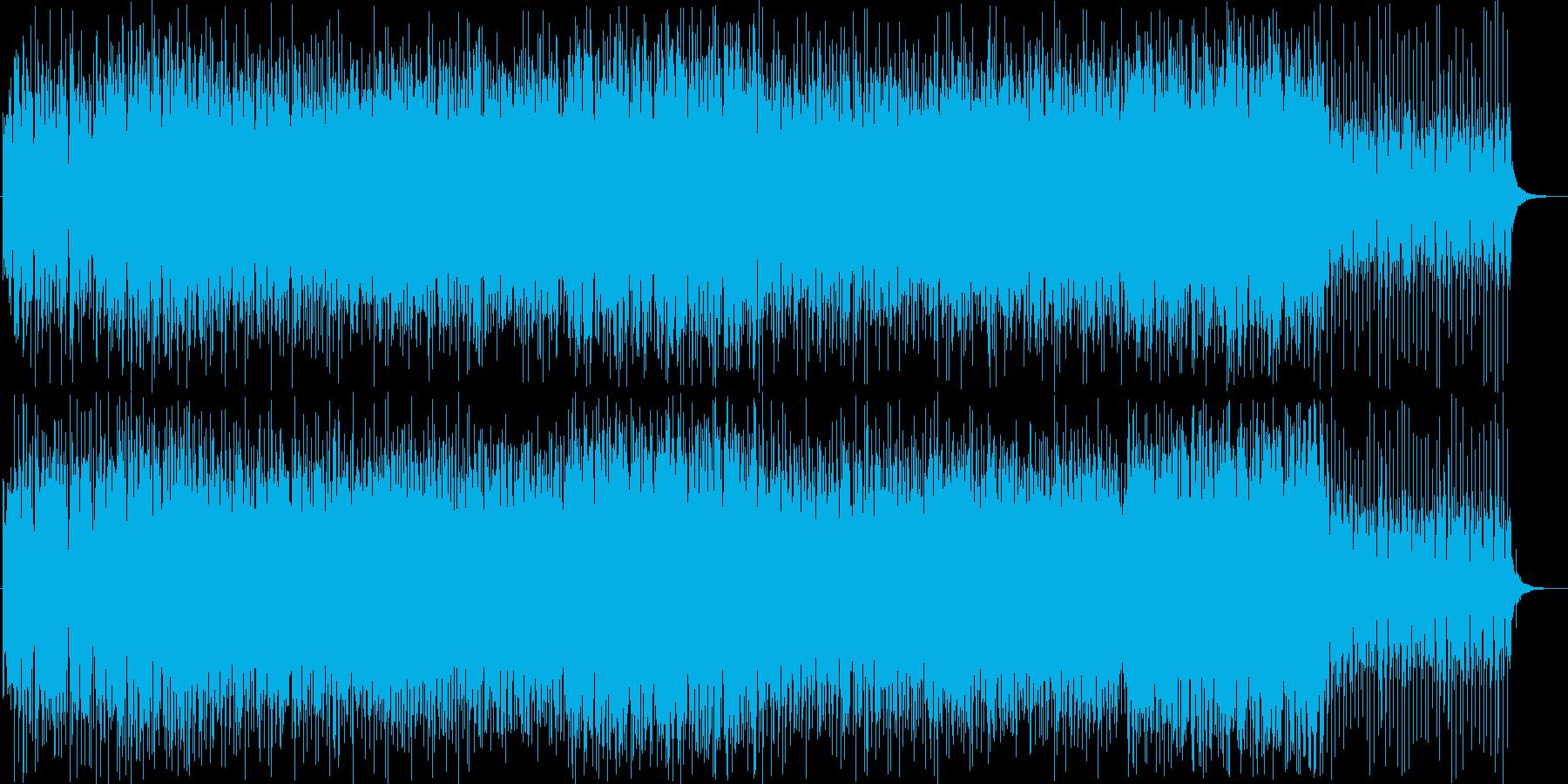 パンフルート美メロ爽やかトロピカルハウスの再生済みの波形