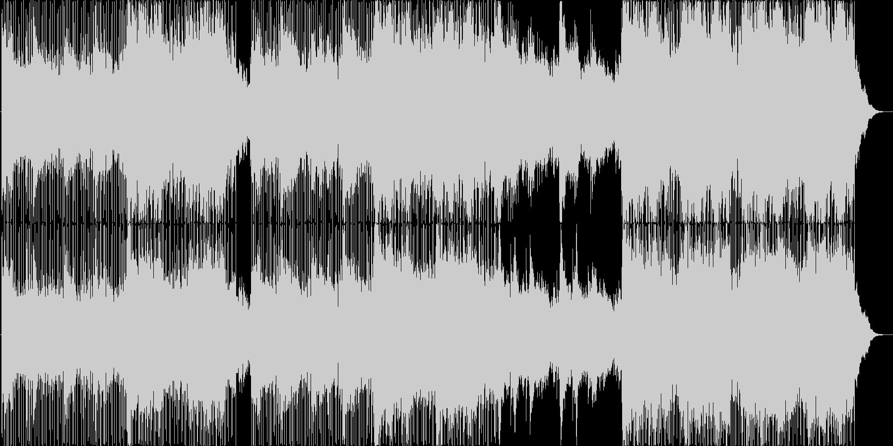 インストルメンタルライトロック。明...の未再生の波形
