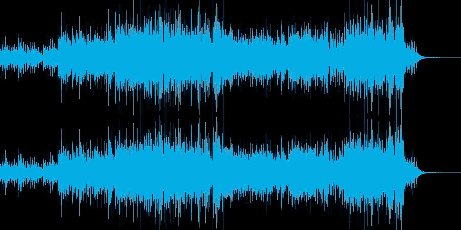 メロディが同じループのフィールド曲の再生済みの波形