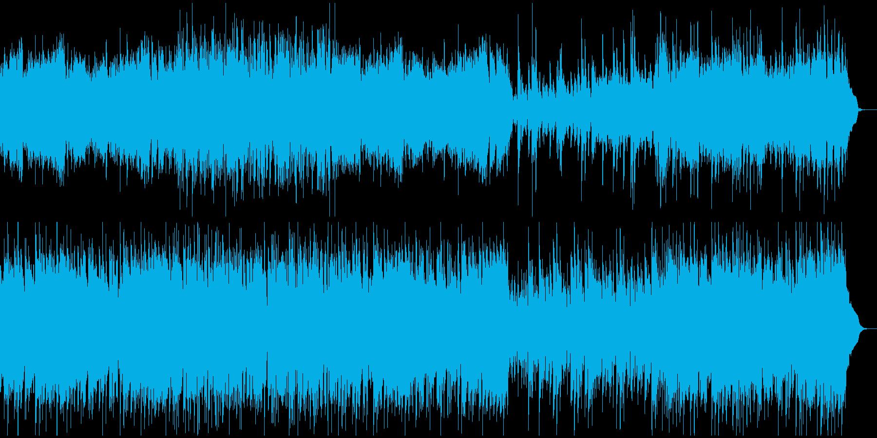 和風ゴシック系の不思議なワルツの再生済みの波形