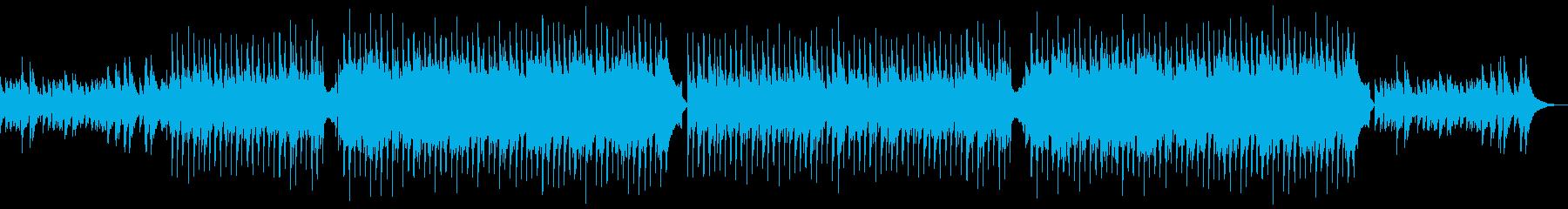 アコギ・失恋・切ないメロディーの再生済みの波形