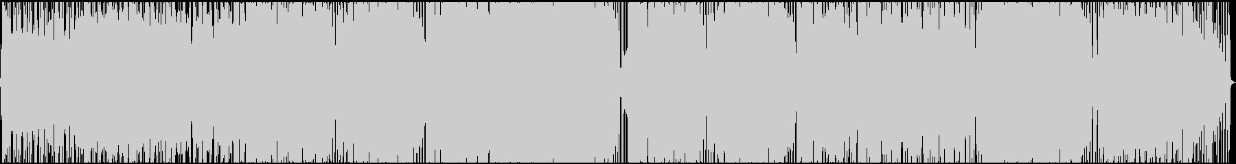 オシャレガールズポップの未再生の波形