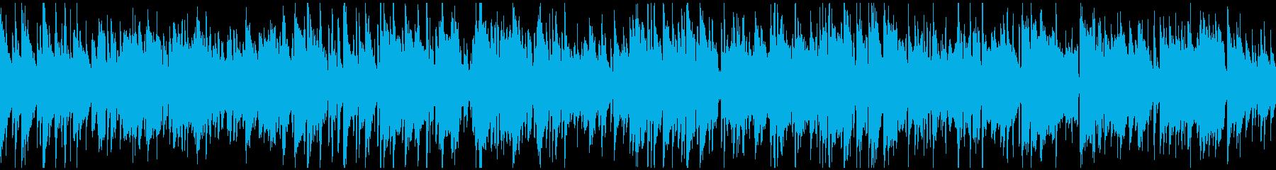 柔らか、リラックス・ボサノバ ※ループ版の再生済みの波形