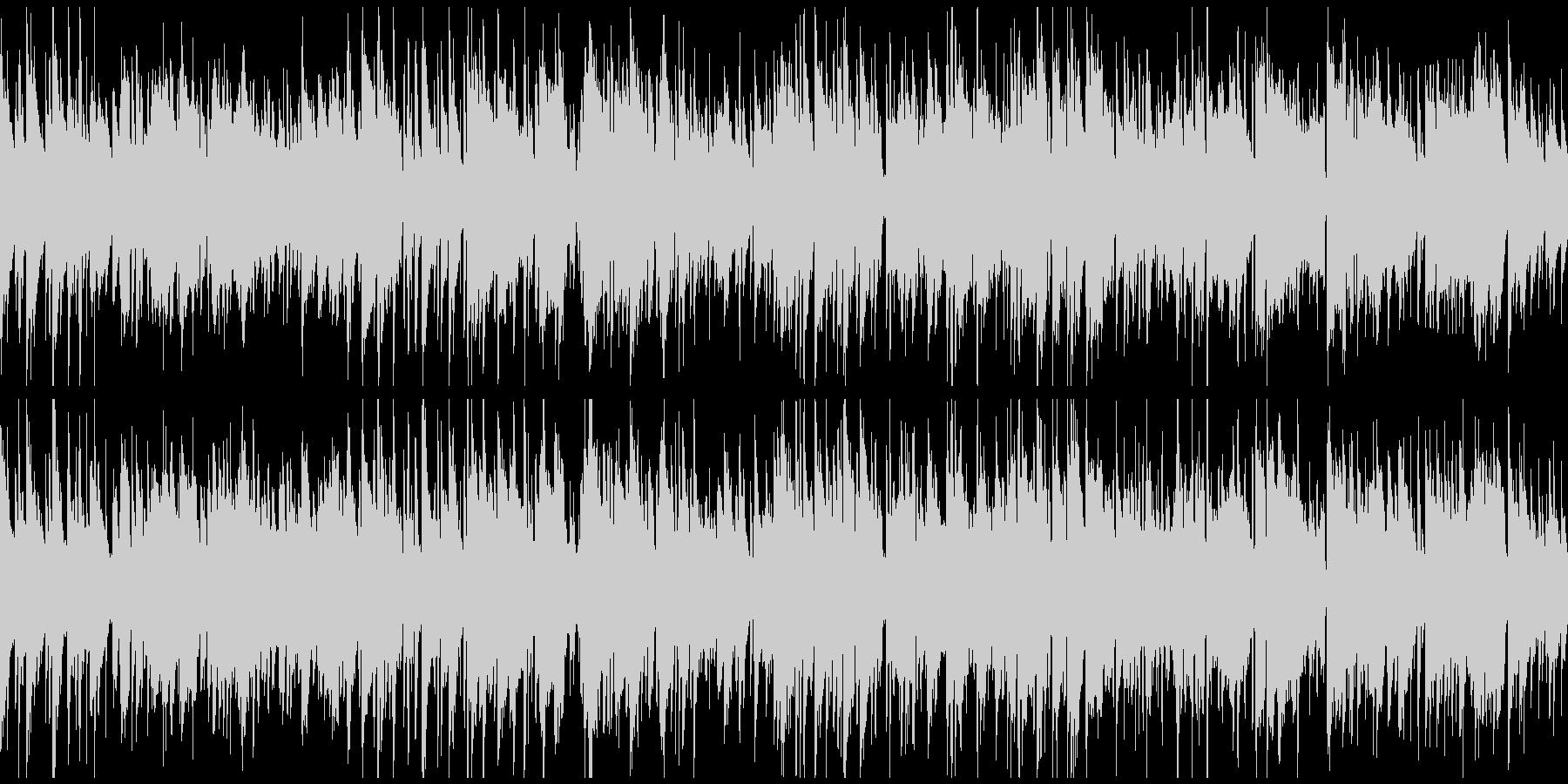 柔らか、リラックス・ボサノバ ※ループ版の未再生の波形