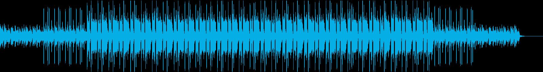 ニュース、YouTube等映像BGM01の再生済みの波形