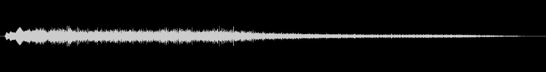 工業 アトモドローンスティンガー02の未再生の波形