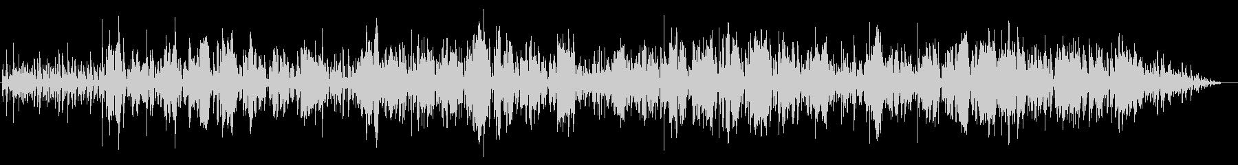 プロジャズ歌手のスコットランド民謡カバーの未再生の波形