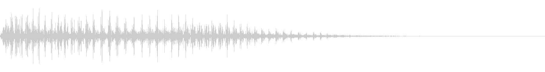 普通のおならの音です。の未再生の波形