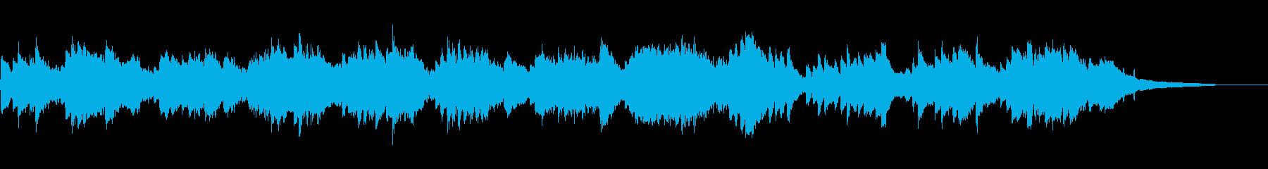 爽やかな風のようなピアノソロ・30秒広告の再生済みの波形