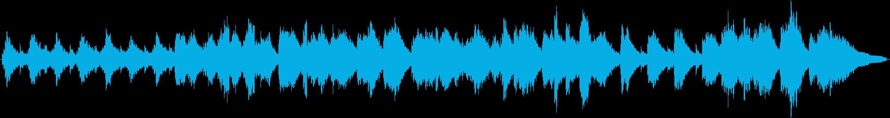 ローズピアノの眠くなるBGM2の再生済みの波形