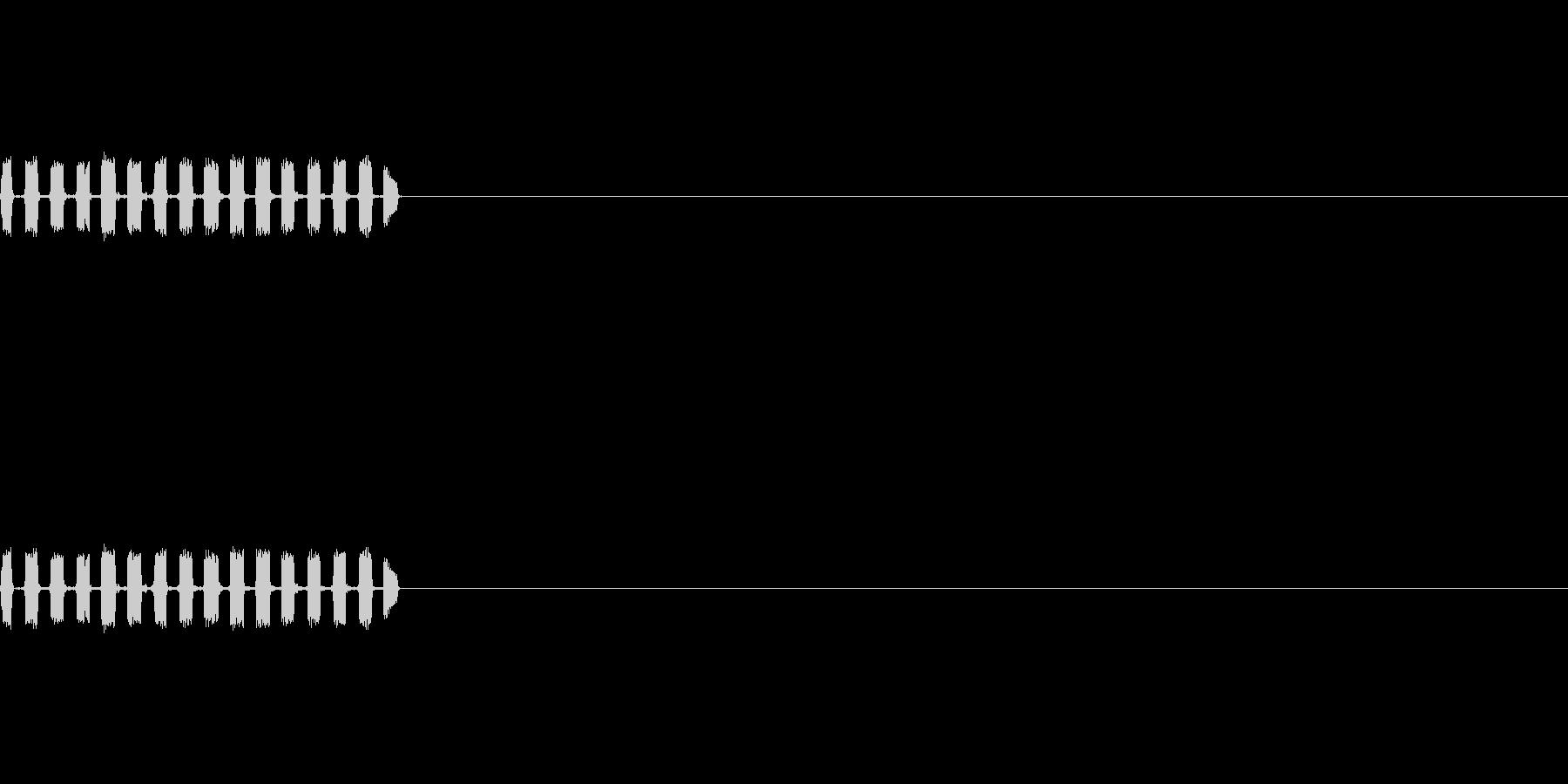 メーター表示/解析/着信/デジタルの未再生の波形