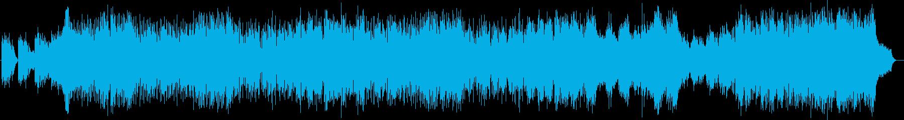 爽やかで明るいシンセピアノサウンドの再生済みの波形