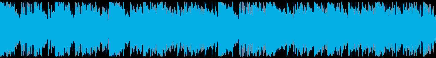 ジャズの影響を受けたモダンサウンドの再生済みの波形