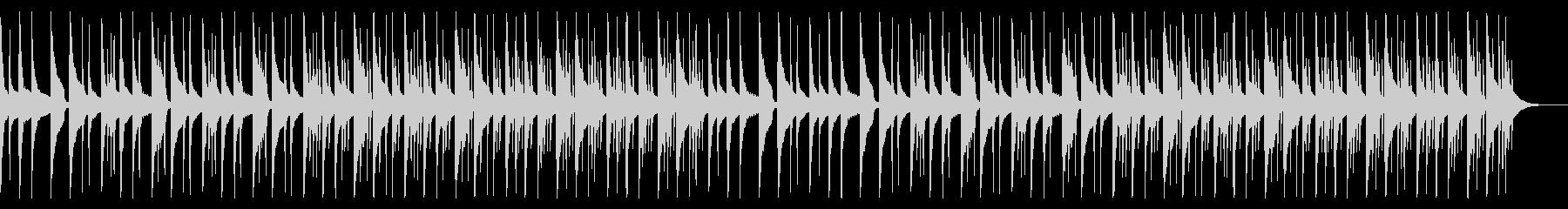 怪しいオルゴール ベース ドラムラインの未再生の波形