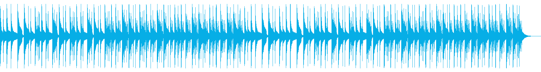 怪しいオルゴール ベース ドラムラインの再生済みの波形