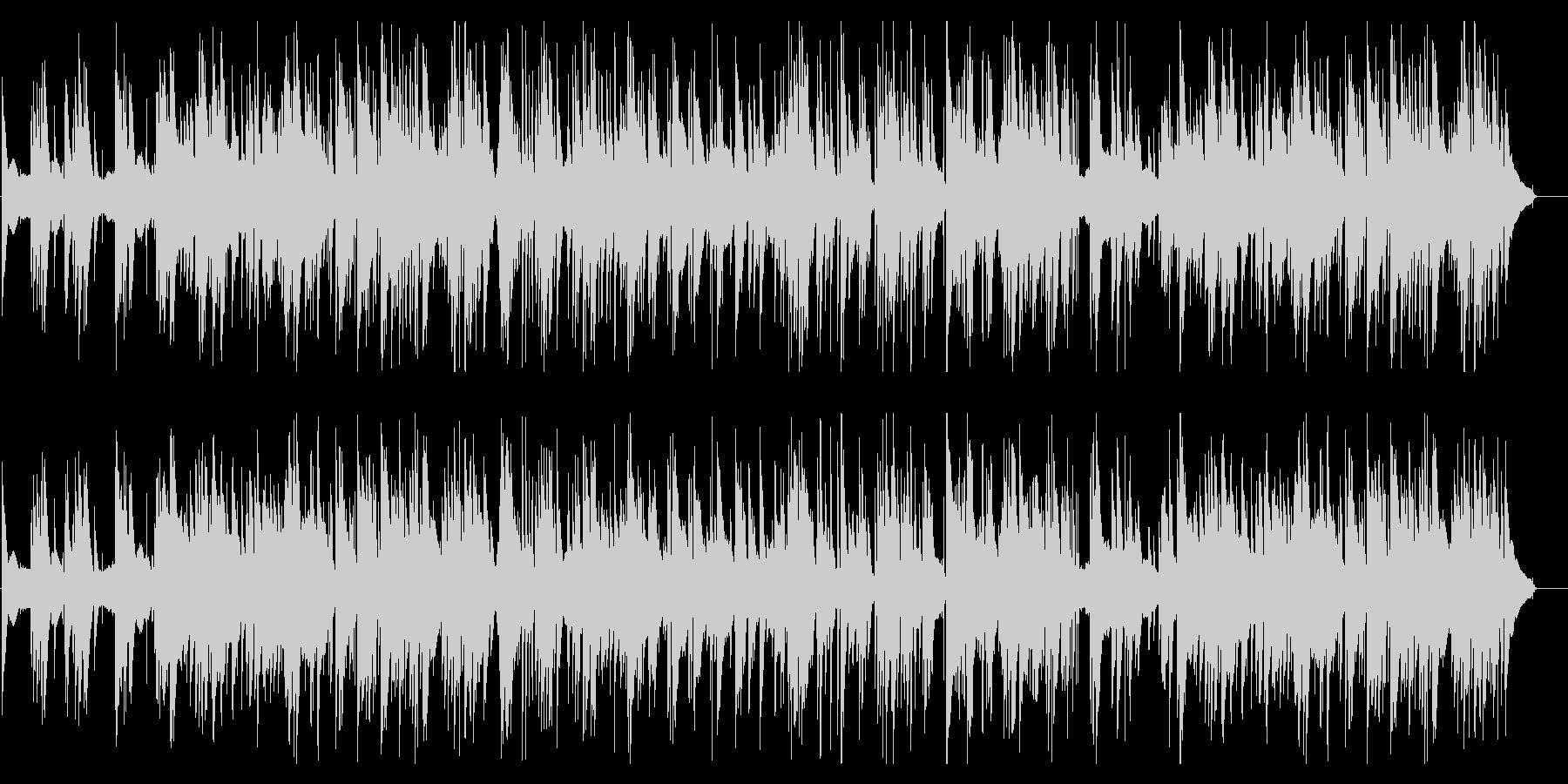 クリスマスソング_Jazzピアノトリオの未再生の波形