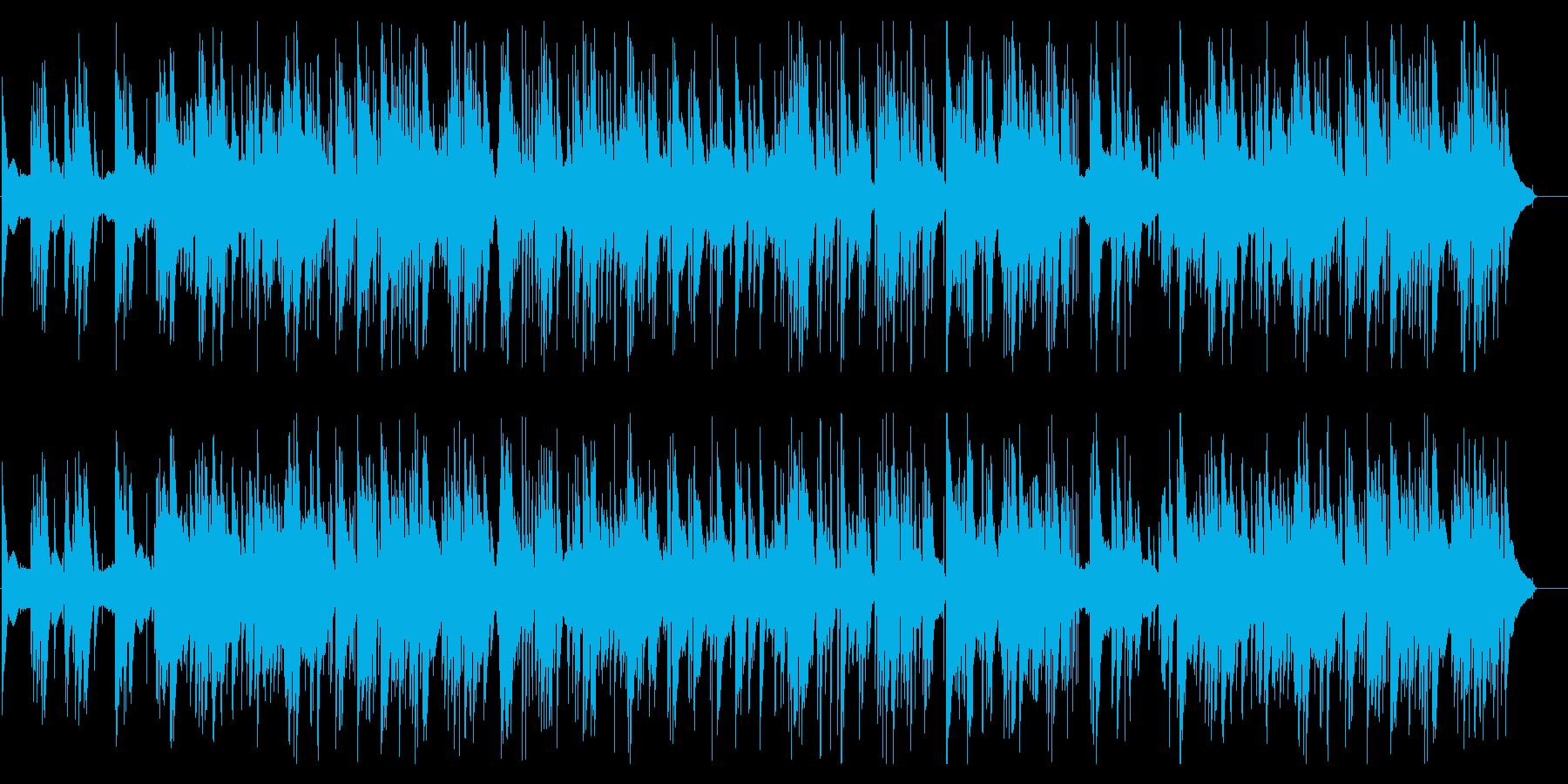 クリスマスソング_Jazzピアノトリオの再生済みの波形