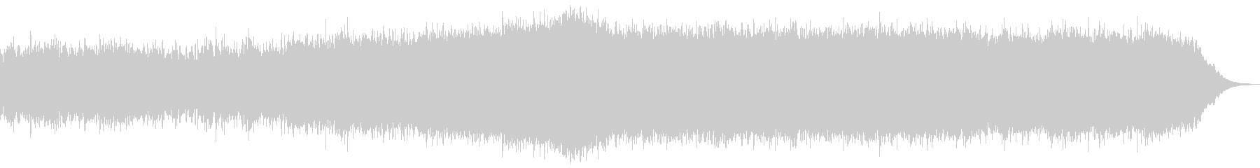 ミドルテンポのギターインストの未再生の波形