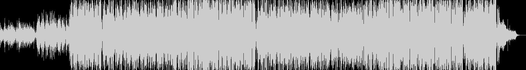 JPOPのカラオケのようなPOP曲の未再生の波形