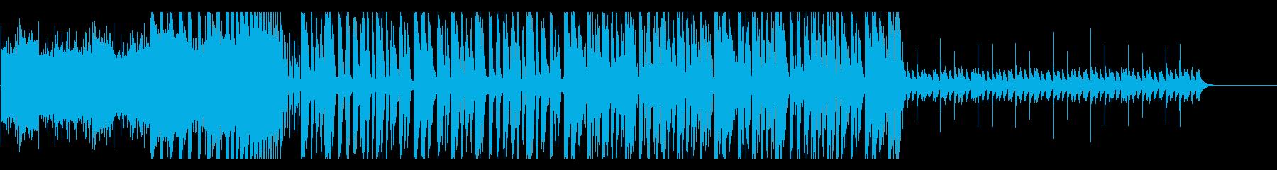 ポップで爽やかFuture Bass cの再生済みの波形