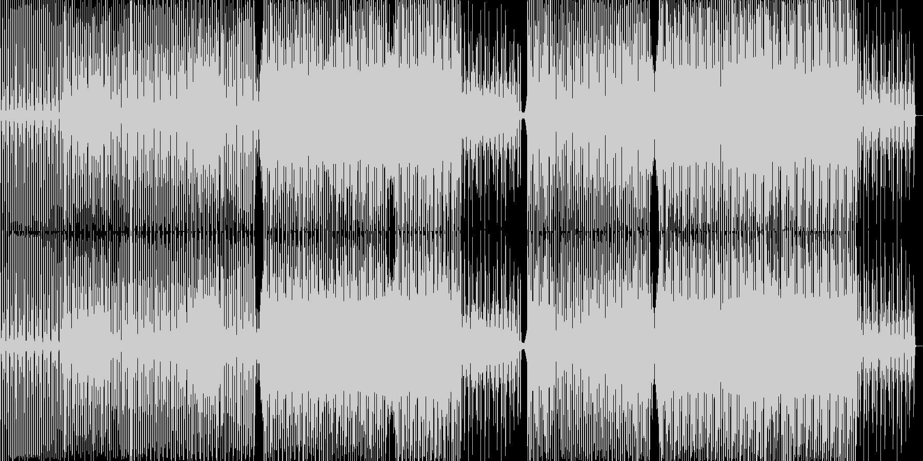 活力がみなぎるエッジの効いたサウンドの未再生の波形