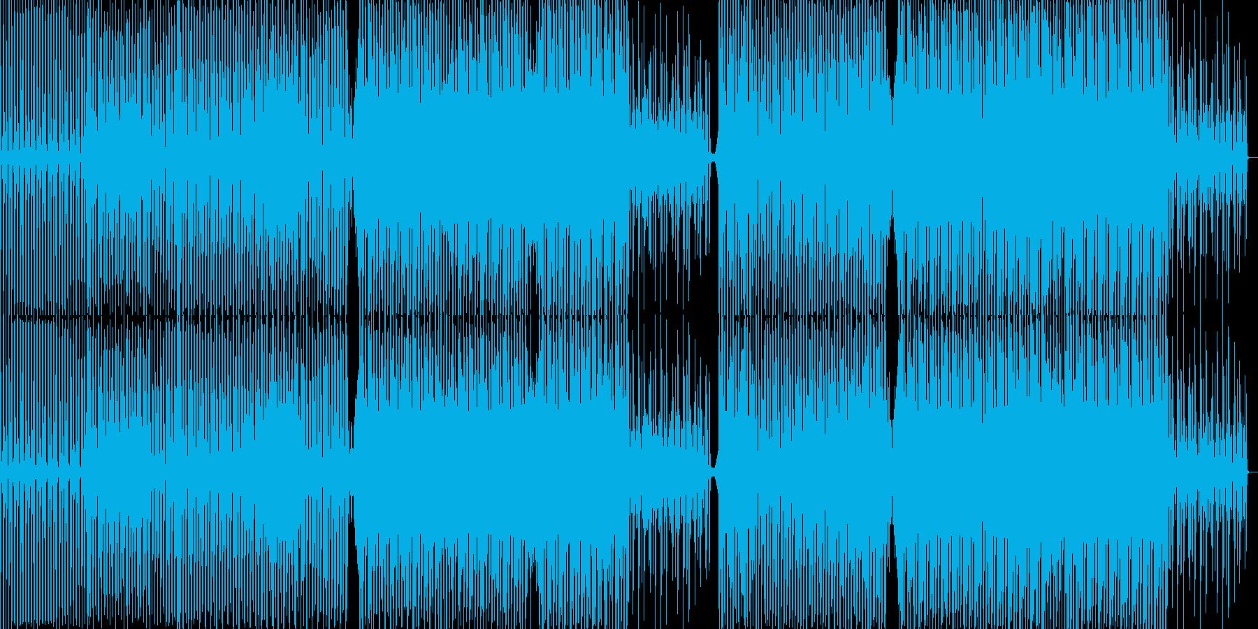 活力がみなぎるエッジの効いたサウンドの再生済みの波形