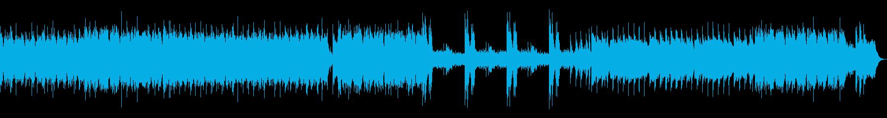 ギターメインの戦闘曲の再生済みの波形