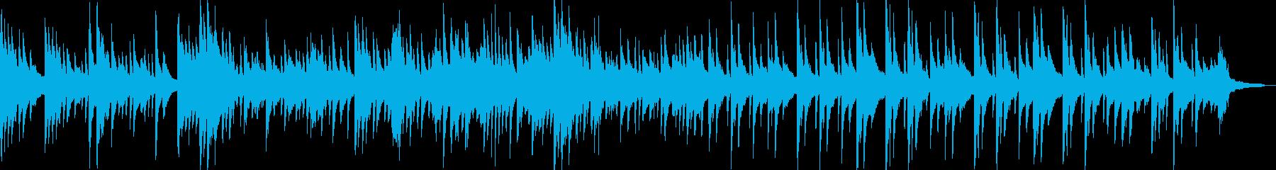 TV企業VP映像にピアノソロ大人の雰囲気の再生済みの波形