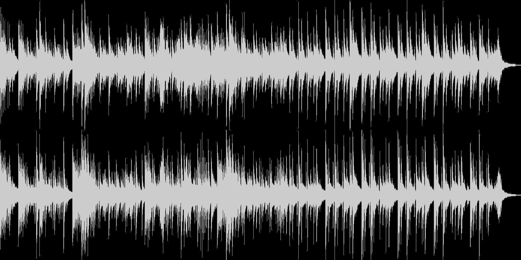 TV企業VP映像にピアノソロ大人の雰囲気の未再生の波形