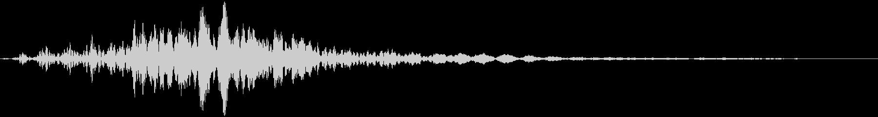 CINEMATIC SFX(SF・未来)の未再生の波形