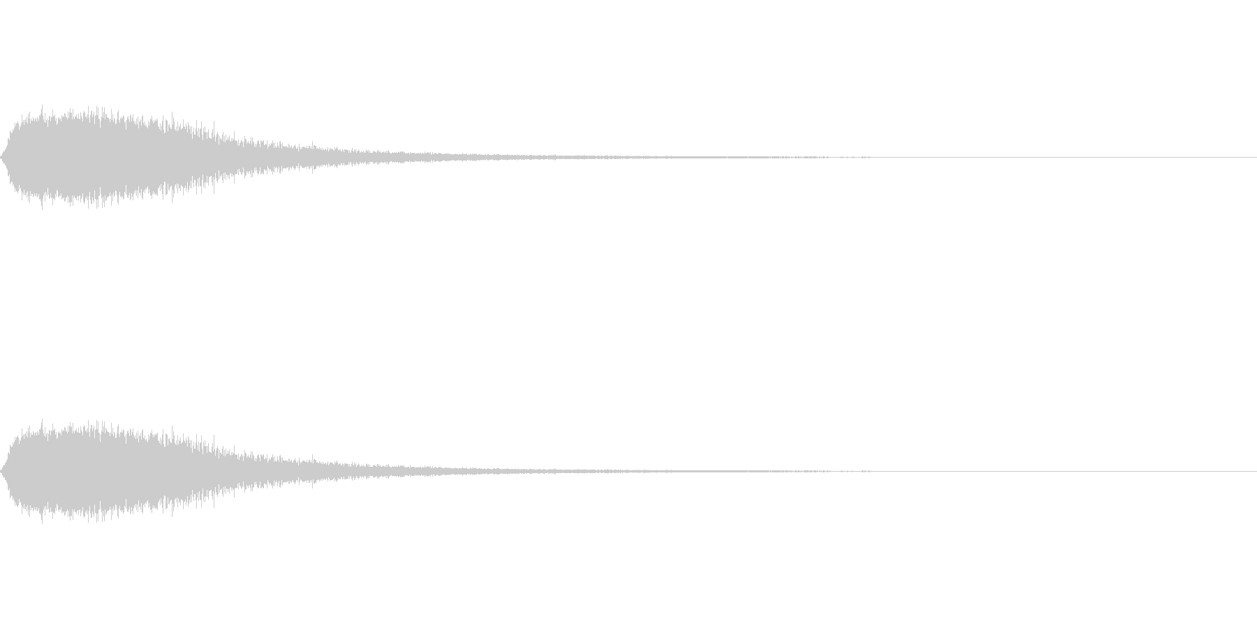 シュー(空気、蒸気、ガス)その4の未再生の波形