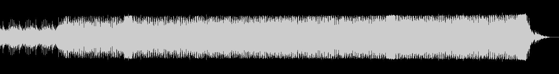 bpm133のピアノ主体の不気味なテクノの未再生の波形