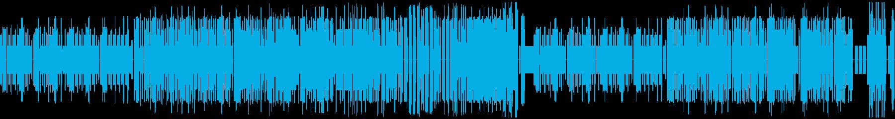 ほのぼの明るいディズニー風チップチューンの再生済みの波形
