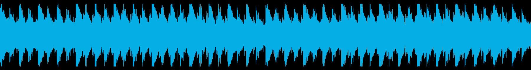 綺麗で神秘的な水のイメージ曲(ループ可)の再生済みの波形