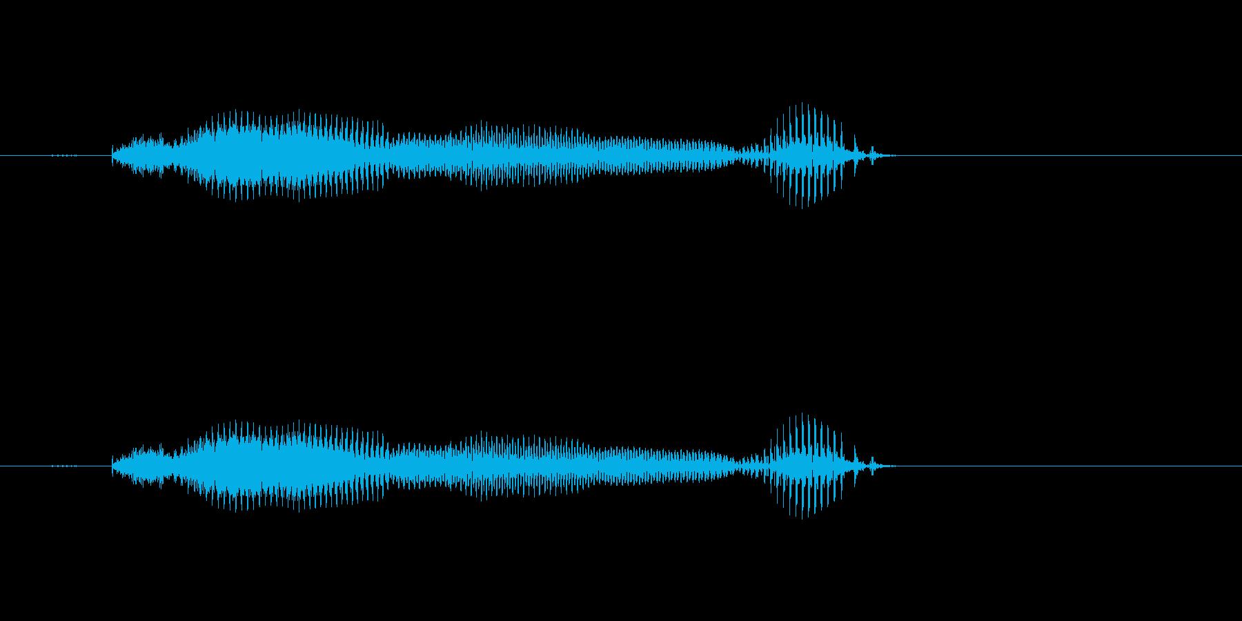 【年数】10年後の再生済みの波形