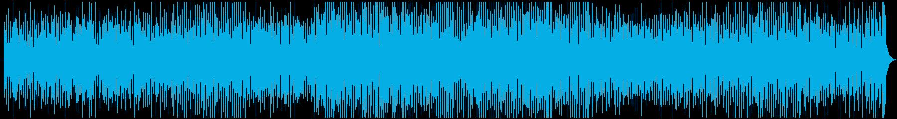 若さを感じる軽快なミュージックの再生済みの波形