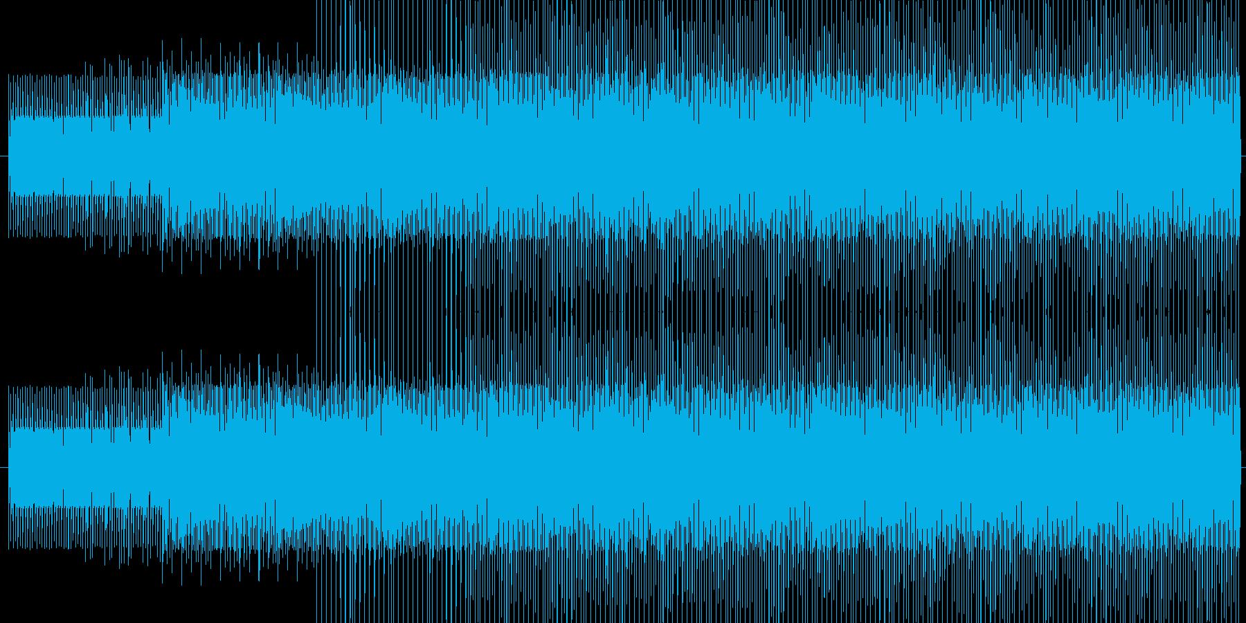 チープで軽快な電子音 レース 徒競走の再生済みの波形
